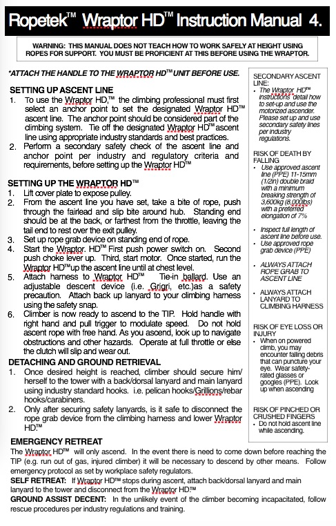 page 4 HD instructions